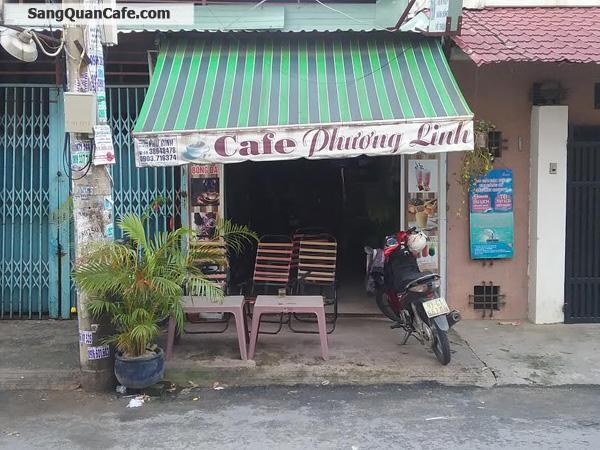 Sang quán cafe giá rẻ quận Gò vấp