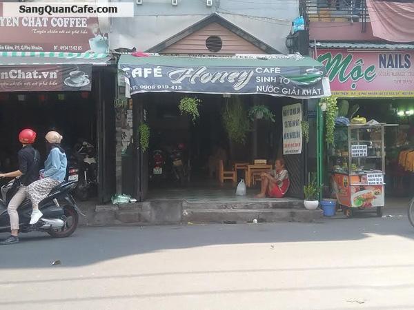 Sang quán cafe giá rẻ quận Phú Nhuận