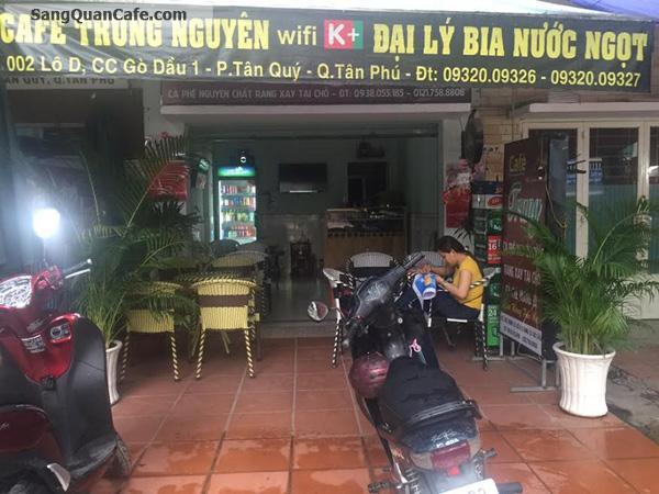 Sang Quán Cafe Giá Rẻ quận Tân Phú