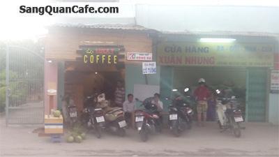 Sang quán Cafe giá rẻ tại Hóc Môn