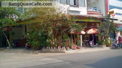 Sang quán cafe góc 2 mặt tiền  quận 6.