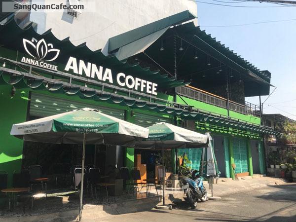 Sang quán cafe góc 2 mặt tiền, 200m2, 1 lầu