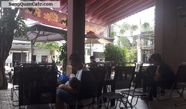 Sang quán cafe góc 2 mặt tiền 8 x 10m