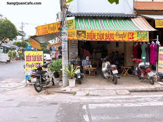 Sang Quán Cafe Góc 2 Mặt Tiền đang hoạt động tốt