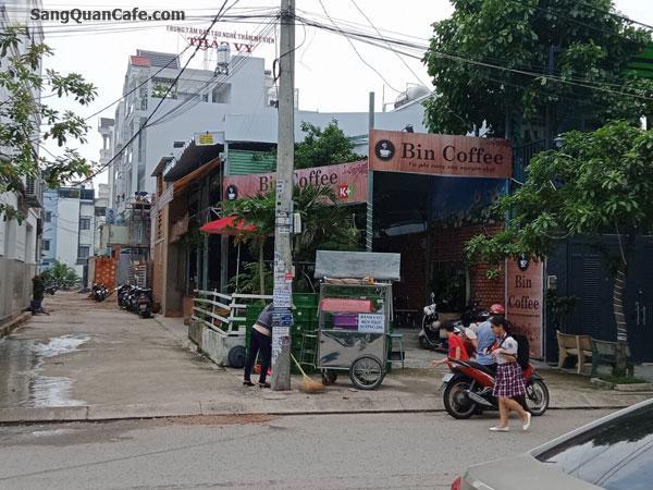 Sang quán cafe góc 2 mặt tiền đang kinh doanh đông khách
