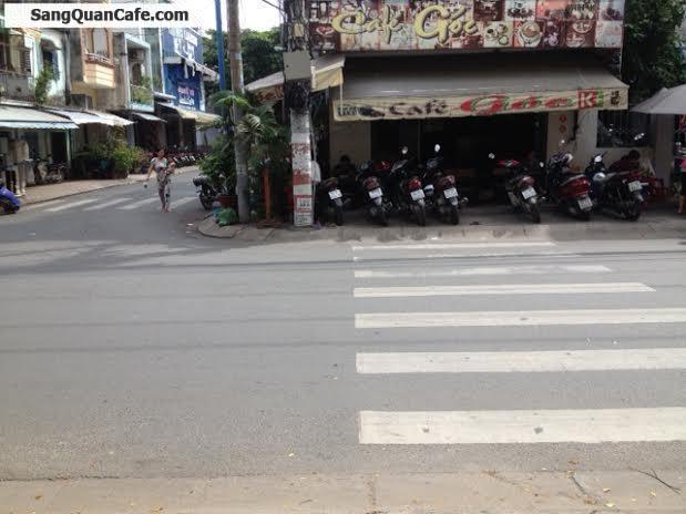 Sang Quán cafe góc 2 mặt tiền Thạch Lam