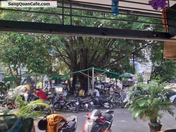 Sang quán cafe góc 2 mặt tiền đối diện công viên