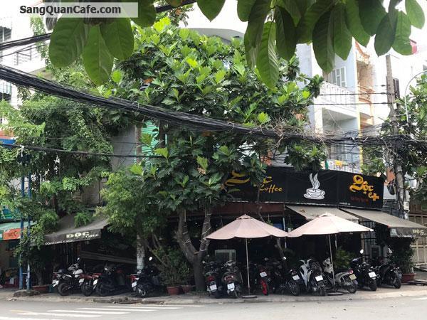 Sang quán cafe góc 2 mặt tiền đối diện trường học