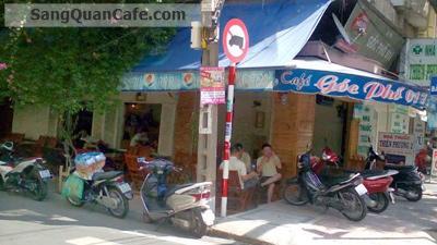 Sang quán cafe góc 2 mặt tiền Đồng Đen