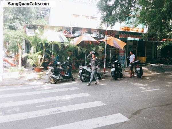 Sang quán Cafe góc 2 mặt tiền Đông khách