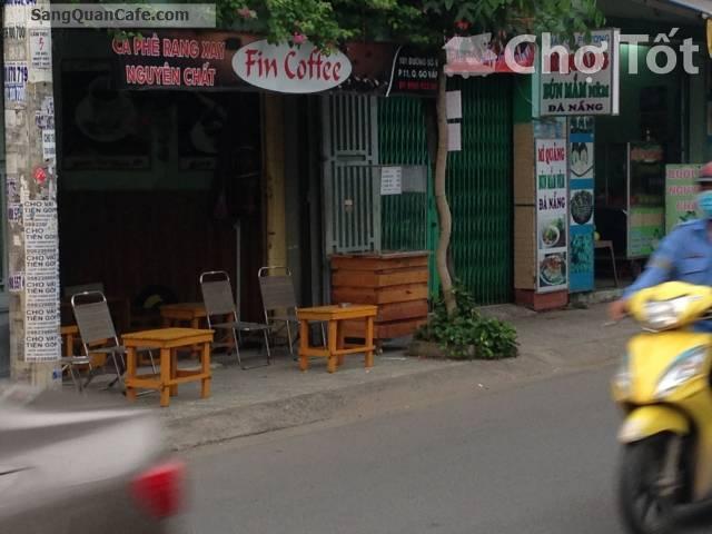 Sang quán cafe góc 2 mặt tiền giá rẻ quận Gò Vấp.