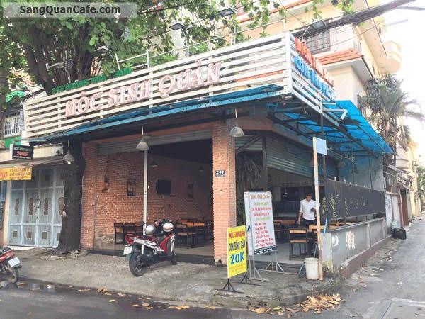 Sang quán cafe góc 2 mặt tiền Hoàng Hoa Thám