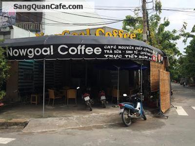 Sang quán cafe góc 2 mặt tiền khu cc Tây Thạnh