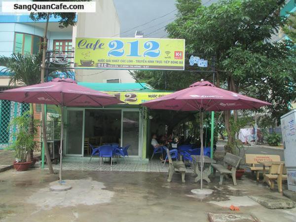 Sang quán cafe góc 2 mặt tiền khu Tên Lửa