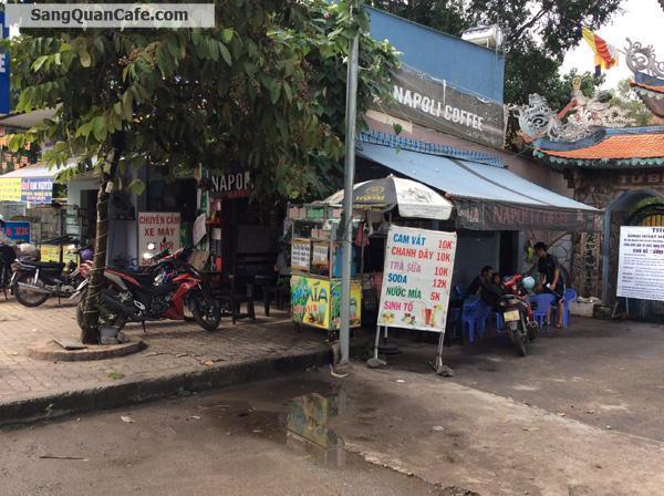Sang quán cafe góc 2 mặt tiền quận 12