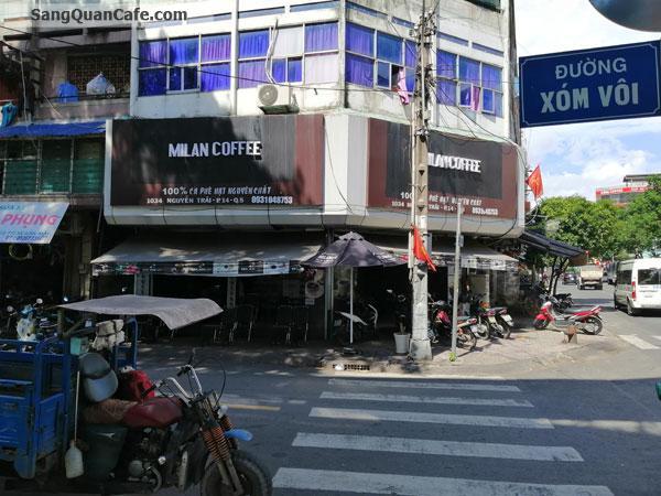 Sang Quán Cafe Góc 2 Mặt Tiền quận 5