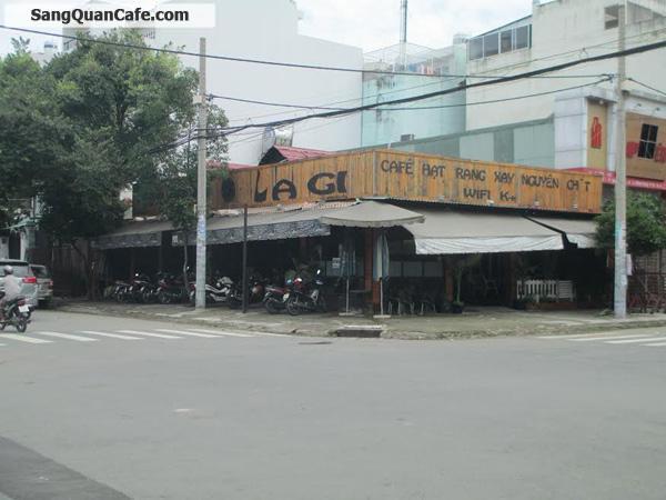 Sang quán cafe góc 2 mặt tiền quận 6