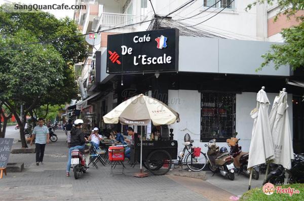 Sang quán cafe góc 2 mặt tiền quận Phú Nhuận