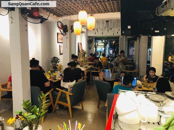 Sang quán Cafe góc 2 mặt tiền quận Tân Bình