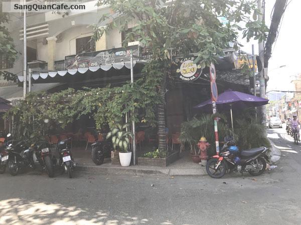 Sang quán cafe góc 2 mặt tiền Trần Quang Diệu