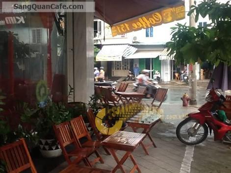 Sang quán cafe góc 2 mặt tiền trung tâm quận