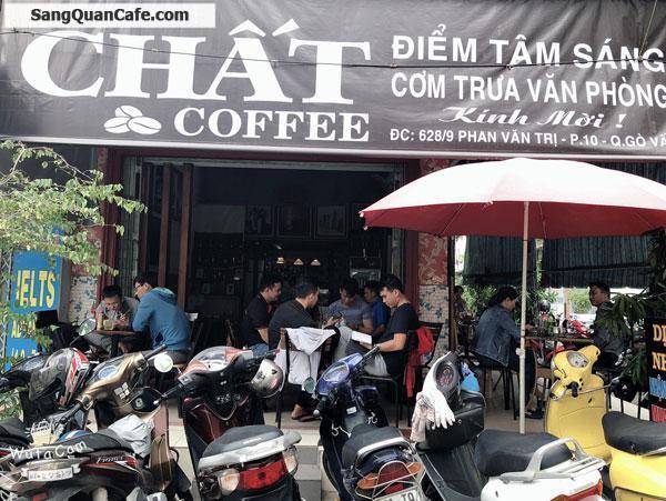 Sang quán cafe góc 2 mặt tiền vị trí rất thuận tiện
