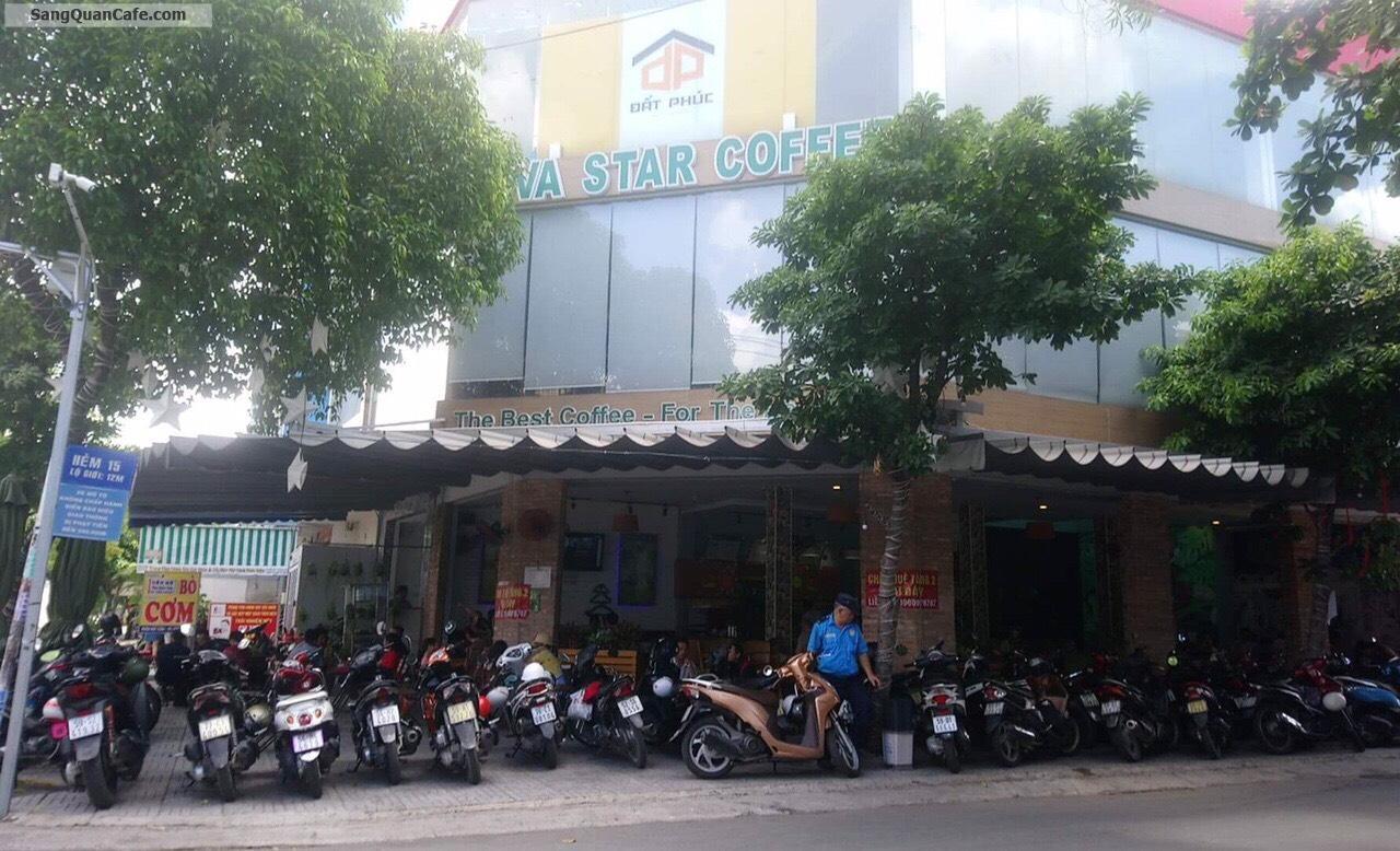 Sang quán cafe góc 2 mặt tiền viva star