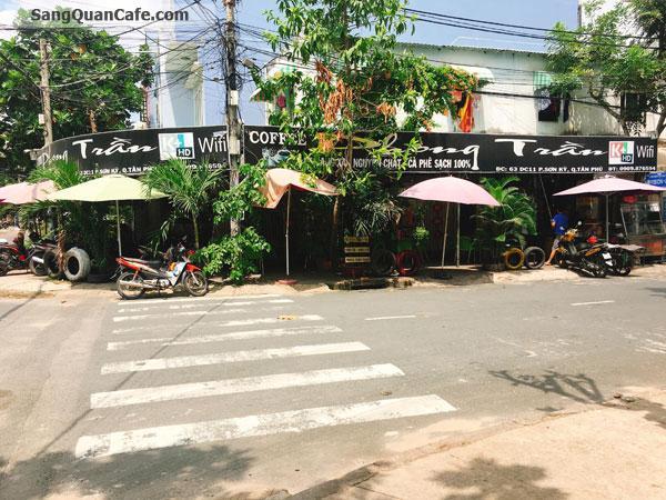 Sang Quán Cafe Góc 2 MT quận Tân Phú