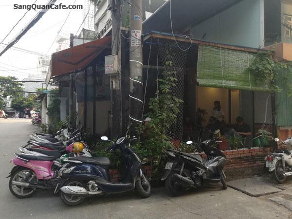 Sang quán cafe góc hai mặt tiền vị trí đẹp