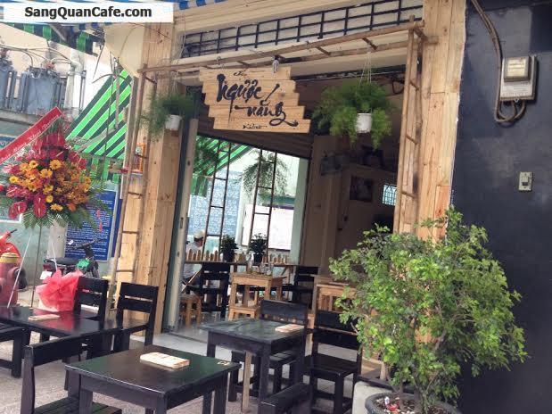 Sang quán Cafe hai mặt tiền Hoàng Sa