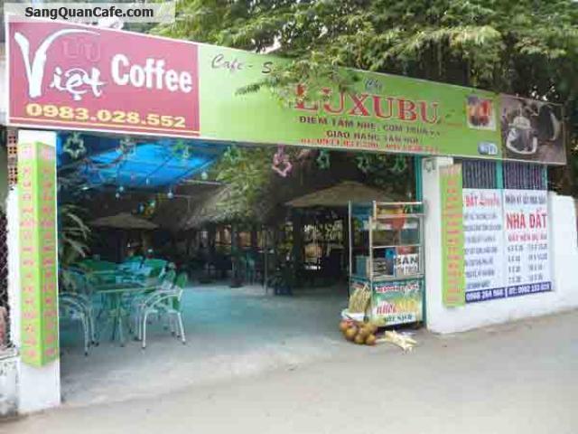 Sang quán cafe hẻm 25, Lê Văn Khương, Q. 12