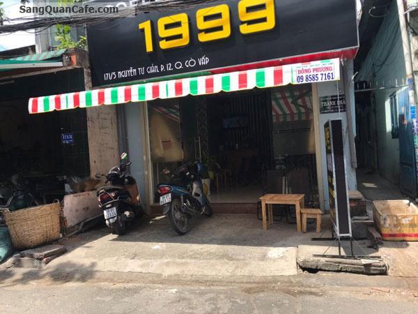 Sang quán cafe K+ khu dân cư đông.