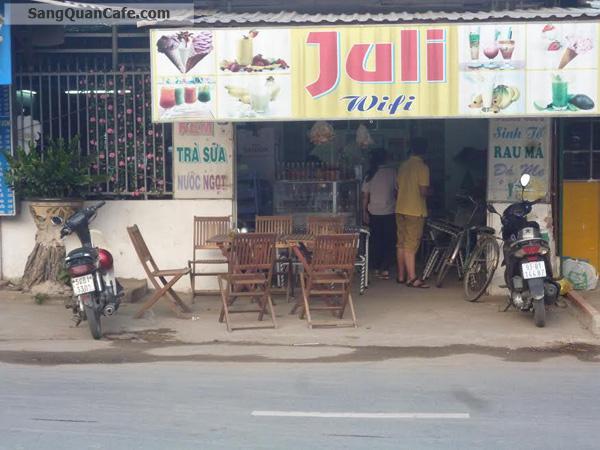 Sang quán cafe - Kem - Trà sữa Hóc Môn