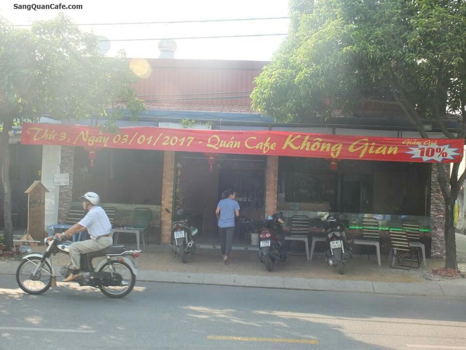 Sang Quán cafe không gian rộng Hóc Môn