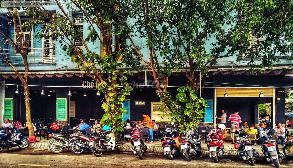 Sang quán cafe khu ẩm thực quận 6