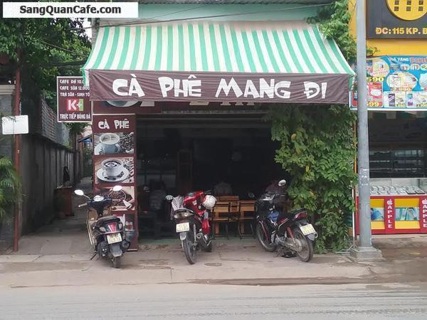 Sang quán cafe - trà sữa ngay cổng KCN Bình Đường