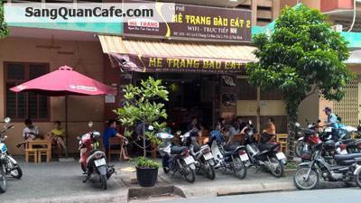 Sang quán cafe giá rẻ khu chung cư Bàu Cát