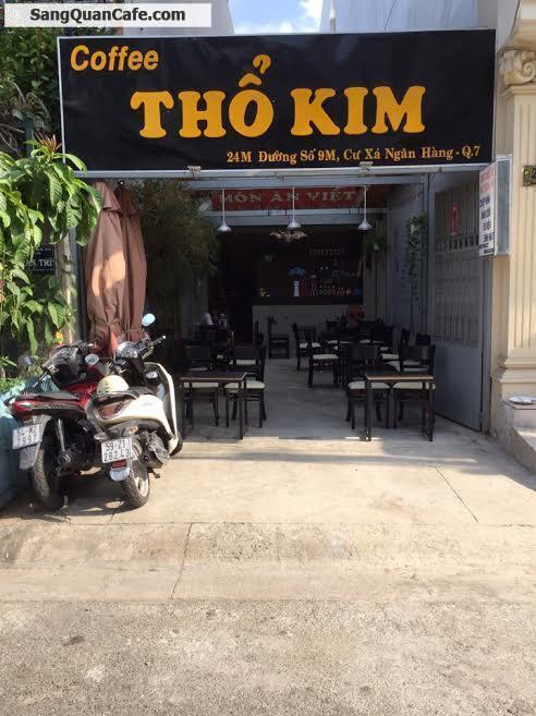 Sang quán cafe khu Cư Xá Ngân Hàng,