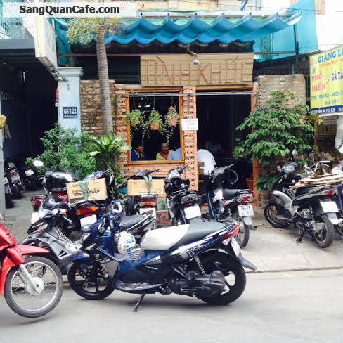 Sang quán cafe khu CX Bắc Hải quận 10