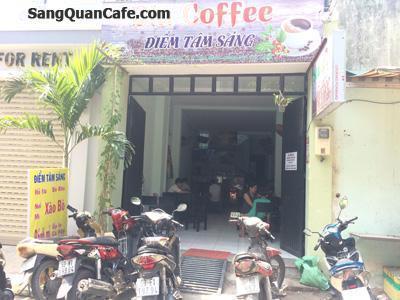 Sang quán cafe + cơm , khu văn phòng quận Tân Bình