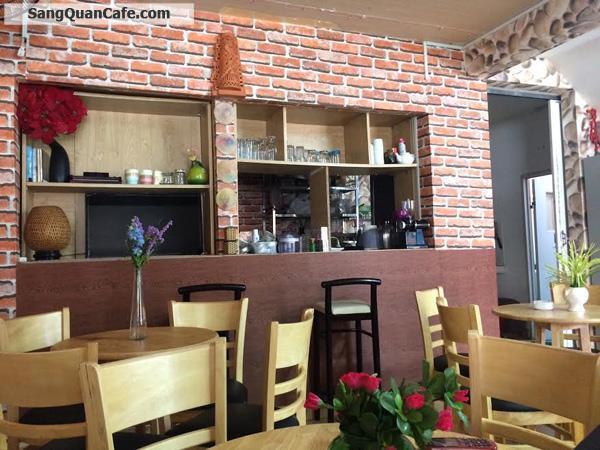 Sang quán cafe mặt tiền chung cư Bàu Cát 2