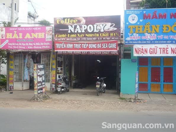 Sang quán cafe mang về ' NAPOLY ' Quận 12