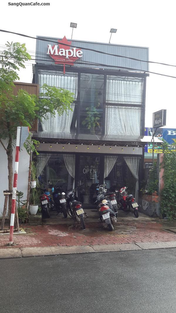 Sang quán Cafe MAPLE đường Bầu Bàng