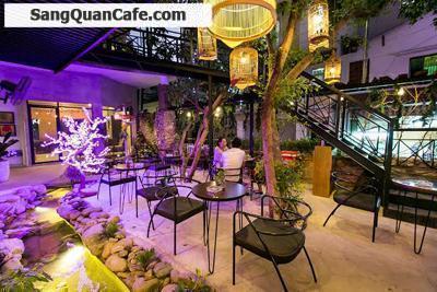 Sang quán cafe mặt bằng cực đẹp 11 x 30m