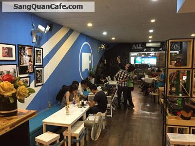 Sang quán cafe mặt bằng đẹp quận 3