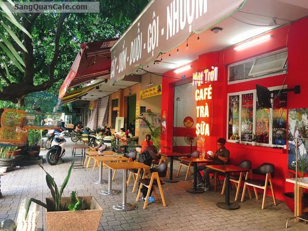 Sang quán Cafe mặt bằng mặt tiền rộng