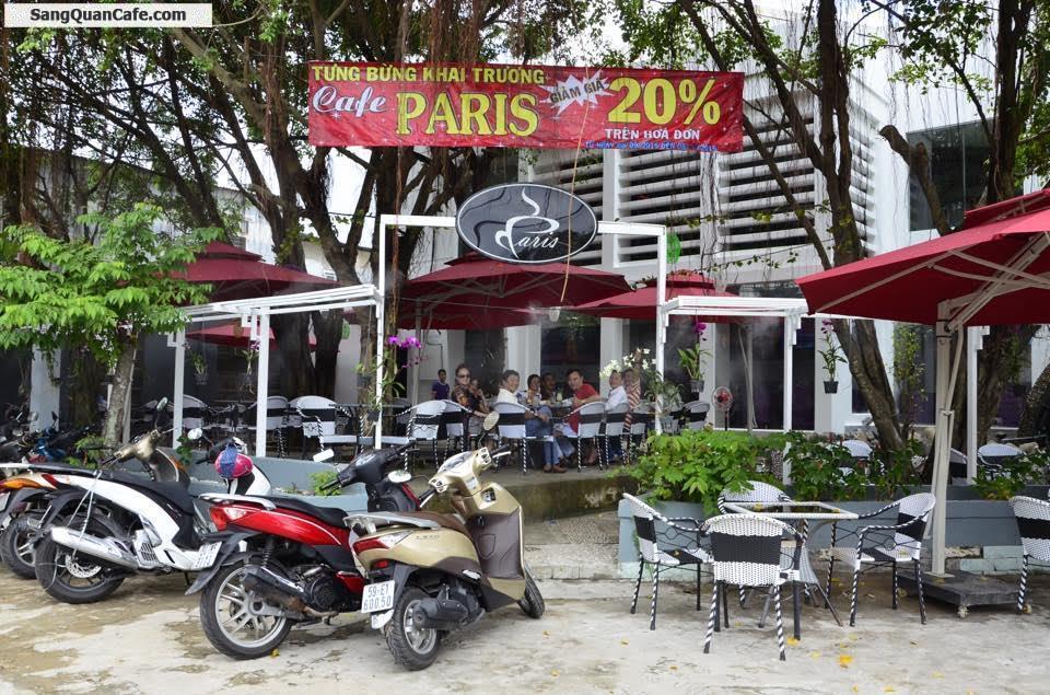 Sang Quán Cafe mặt bằng rộng đẹp KDC Phong Phú