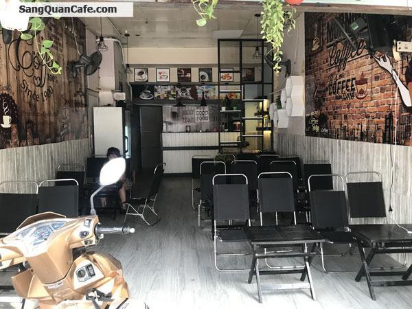 Sang quán cafe mặt đường khu sầm uất