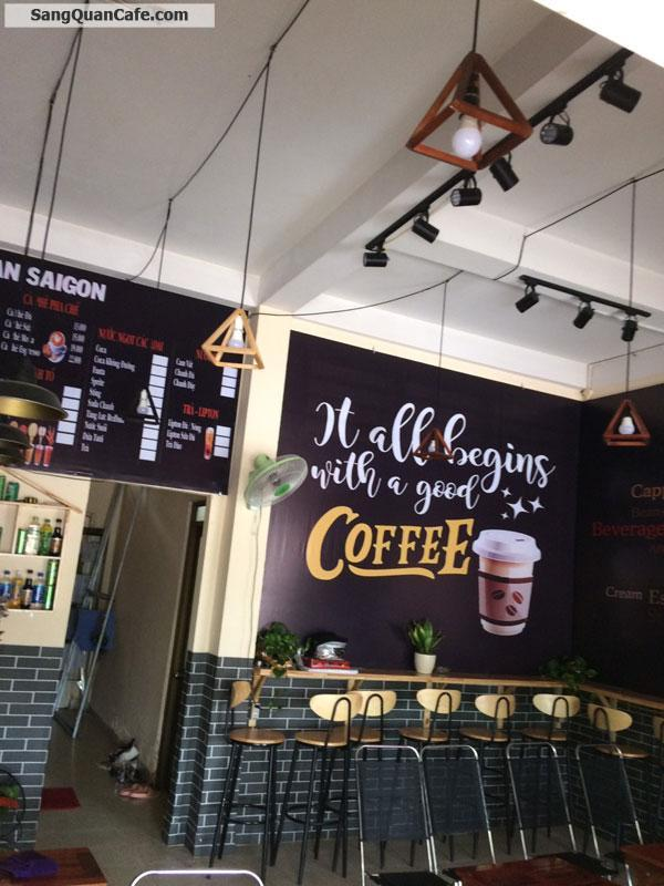 Sang quán cafe mặt đường trường sa