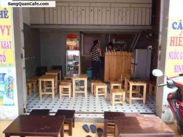 Sang quán cafe mặt tiền đường Nguyễn Oanh